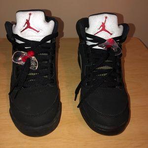 Air Jordan 5. Size 5.5 boys or 7.5 women